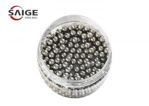 China Carbon Steel  Grinding Media Steel Balls 3 / 16 '' Hardened Abrasion Resistance on sale