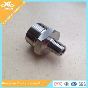 China New Styel Pure And Alloy Titanium Pipe Fitting Plug From China on sale