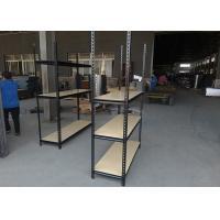 China Warehouse Boltless Rivet Shelving Color Optional Corrosion Resistant on sale