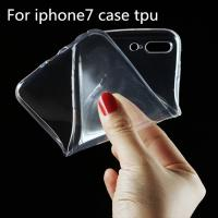 Ultra Thin Clear Crystal Transparent TPU Soft Cell Phone Covers For IPhone 7 Case