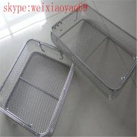 medical stainless steel wire basket/Perforated Mesh Basket/Mesh Sterilization Trays/ Mesh Sterilization Baskets