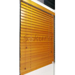 China WINDOW COVERING WOODEN BLIND WOOD VENETIAN BLIND 55MM BASSWOOD WOOD BLIND on sale