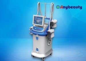China Four Handles Fat Freezing Machine With Vacuum , Cryolipolysis Body Slimming Machine on sale