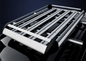China Double Layer Universal Auto Roof Racks , Aluminium Alloy Roof Luggage Carrier on sale