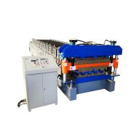 925 mm galvanized metal roofing panel double deck roll forming machine