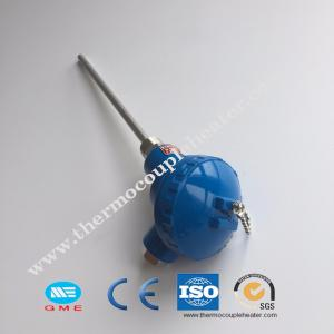 China assembly thermocouple sensor probe fixed thermocouple pt100/K/J,/S on sale