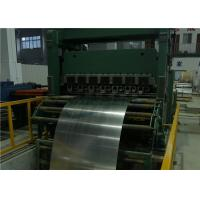 China Full Automatic Cut To Length Line 10×2200 Steel Coil Human Machine Interface on sale