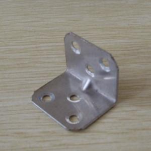China Low - Carbon WPC Accessories Metal Floor Clip For Building Materials on sale