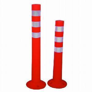 China Soft PVC Flexible Warning Post on sale