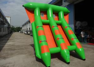 China 4-6 Passangers InflatableTowable Sport Games/ Fly Fishing Boat Fish Raft Boat on sale