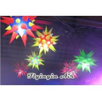 Hot Thorn Inflatable Led Star for Event and Party Light Supplies