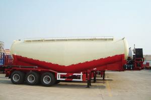 China 60t Bulk cement tank semi trailer with diesel engine and air compressor | Titan Vehicle on sale
