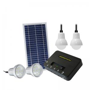 China 8W Off Grid Solar Lighting System , 11V At Home Solar Lights on sale