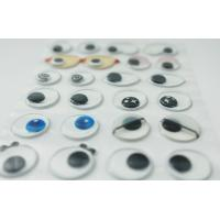 Popular 3D Googly Eyes Stickers , Movable Eyes Bubble Sticker
