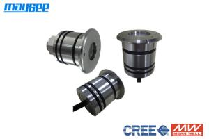 China Park 12VDC 1w 316 Stainless Steel LED Deck Light With 50mm Diameter on sale