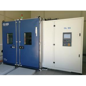 Large Volume Climatic Test Chamber , Temperature Test Chamber 8-100m3 Automotive Integrated