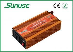 China 50HZ 1000w Pure Sine Wave Inverter 12v 220v For Digital Camera / DVD / Refrigerator on sale