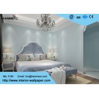 Blue Geometric Pattern Modern Removable Wallpaper , Kids Bedroom Wallpaper