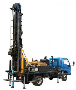 China KW20 Hydraulic Truck Mounted Water Well Drilling Rig on sale