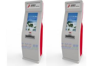 China Slim Multi-Touch Free Standing Kiosk Digital Photo Printer for Market / Tourist Spots on sale
