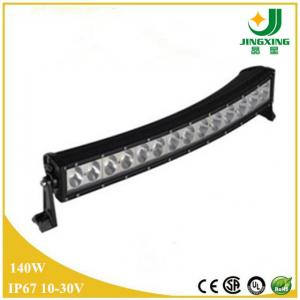 China Good Price 10-30V 6000K Waterproof 30 Inch 140W Curved LED Driving Light Bar on sale