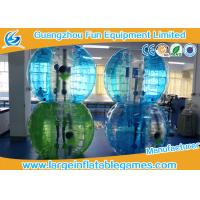 Blue Striped Color Inflatable Bubble Soccer Human Loopy Ball CE / UL Approved