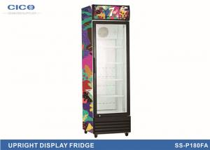 China Electric Upright Display Refrigerator , Commercial Ice Cream Freezer on sale