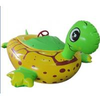 Water Games Inflatable Toy Boat Electric Tortoise Animal Bumper Boat