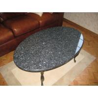 GIGA volga blue granite dining table