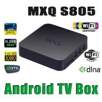 MXQ Set Top BOX Amlogic S805 Quad-Core 1.5GHz 1GB+8GB Support 2.4G wireless mouse