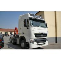 China 10 Tire Prime Mover Truck of SINOTRUK HOWO A7 brand with 6X2 420hp double sleepers and air conditioner on sale