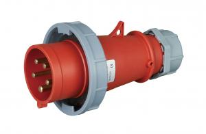 China IEC 60309 2 3 Phase 32 Amp Plug , Weather Protected 3 Phase Industrial Plug on sale