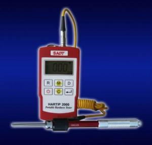 China SADT Universal Angle Portable Metal Leeb Hardness Tester with 2 in 1 probe and 360degree Impact Direction supplier
