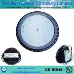 Meanwell power driver  chips 3030SMD IP65 round black aluminum led high bay lamp street light