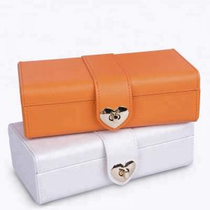 China Packaging Fabric Leather Jewelry Box Set Custom Logo / Size Durable For Storage on sale