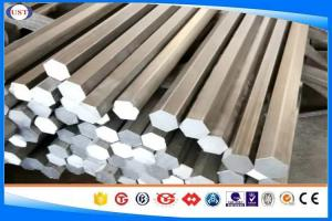 China 1045 / S45C / S45K Hexagonal Steel Bar , S6-100 mm Cold Drawn Bar  on sale