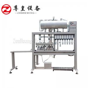 China Semi Automatic Beer Bottle Filling Machine Multi Head Easy To Operate For Brewery on sale