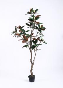 China Minimal Care Artificial Decorative Trees Magnolia Tree Beautiful Artificial Arrangement on sale