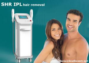 China IPL SHR E-light hair removal machine / IPL hair removal 16*50mm big spot size / 3 system in 1 machine multifunctional on sale