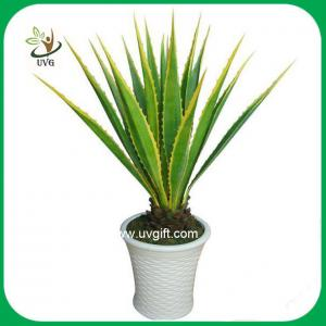 China UVG PLT02 high simulation plastic plants artificial american agave for home decoration on sale