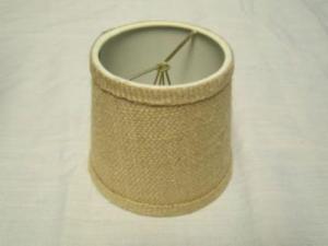 China Burlap Chandelier Drum Shade on sale