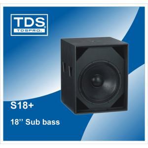 China armoire basse audio de haut-parleur du haut-parleur S18+ du subwoofer 18inch de PA on sale