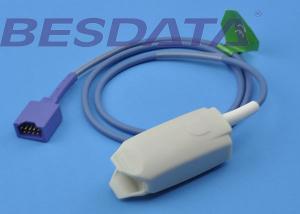 China Punta de prueba material del sensor Spo2 de TPU, color de azul gris de la punta de prueba del finger Spo2 Conmed 2333 on sale