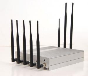 China 3G GPS Bluetooth Full-band Wireless Cell Phone Signal Jammer With 8 Antenna on sale
