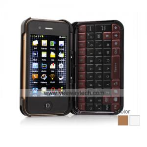 China 3.5 Inch Touchscreen WIFI Dual SIM Cell Phone + Case on sale