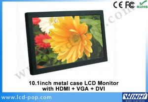 China RoHS 10Inch HDMI VGA DVI Computer HD LCD Monitor 1024 x 600 on sale