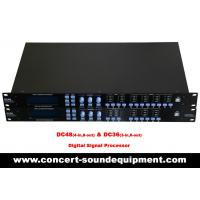 Concert Sound Equipment / 4 input , 8 ouput Digital Signal Processor For Line Array Speaker System