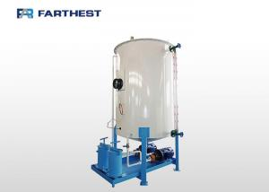 China Compressed Air Spraying Animal Feed Mixer Machine To Add Oil And Molasses CE Approved on sale
