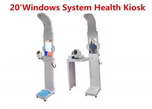 Quality Sel-service medical height and weight scales with blood pressure ,temperature for sale