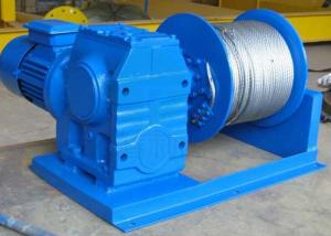 China Professional electric wire rope winch manufacturer with high quality on sale